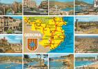 España--Gerona--1985--Plano Y Diversas Poblaciones--l'Escala-a, La Madeleine, Francia - Mapas