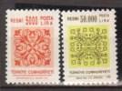 TURQUIE    1995   Service       N°    201 / 202           COTE         4 € 50            ( V 700 ) - 1921-... Republic