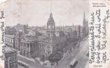 Australia Victoria State 1904 Used Postcard,Town Hall, Melbourne - Postcards