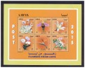 2015 - Libya- Flowers From Libya-  Minisheet - MNH** - Libië