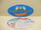 Etiquette Couvercle Fromage CAPRICE DES DIEUX Offre Gourmande + Recette Tarte Fine à La Tomate Bonne Fête Maman - 300g - Fromage
