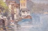 Italia 1917 Cartolina Nuova, Lago Di Como, Brienno, Macchie Diossido Nel Retro - Postcards