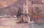 Italia 1917 Cartolina Nuova, Lago Di Como, Gravedona - Postcards