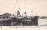 """Cpa C PDieppe Bateau Identifié """" La Tamise """" Et Le """" Portsmouth """"  76 Manche Seine Infèrieure Normandie Torpillé En 1916 - Paquebots"""