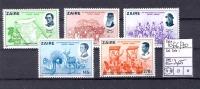 CONGO KINSHASA  ZAIRE  COB 1066/70 MNH - Zaïre