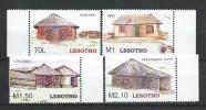 Lesotho 2005 Traditional Basotho Houses. MNH - Lesotho (1966-...)