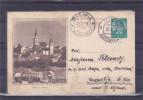 YUGOSLAVIA Slovenia Kranj Ilustrated Postal Card Postmark Zirovnica 1938, St. Vid Nad Ljubljano - Postal Stationery