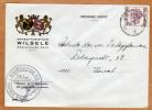 Enveloppe Brief Cover Gemeentebestuur Wilsele - Cartas