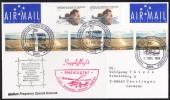 ANTARCTIC, AAT, DAVIS,31.DEC 1996,Helicopter Supplyflight, 3 Cachets, ,look Scan !! 14.11-05 - Antarctische Expedities