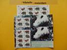 Indonesia 1996, WWF FAUNA SUMATRA JAVA RHINOCEROS: Mi 1648-51, ** -KB - W.W.F.