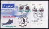 ANTARCTIC, AAT, CASEY, 7.NOV 1998, Helicopter-Flight,  3 Cachets, ,look Scan !! 14.11-07 - Antarctic Expeditions