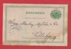 Suède // Entier Postal //  Pour Goteborg  // 1903  //  Taché - Entiers Postaux