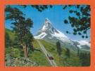 Bahn - Train Chemins De Fer-Die Gornergratbahn Zermatt-Matterhorn -Valais Suisse - Wallis Schweiz - Trains