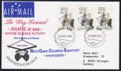 """ANTARCTIC, AAT, 2.SEP 1995, ANARE-Markings  Kingston,  5 Cachets """"Sedimentology"""" ,look Scan !! 14.11-14 - Antarctische Expedities"""