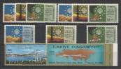1970 Turchia Turkey 4 Serie MNH**: Mi. 2158/60 (x3), 2061/62 - 1921-... Republic