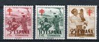 España 1951. Edifil 1103-05 ** MNH. - 1951-60 Ongebruikt
