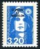 ST-PIERRE ET MIQUELON 1990 - Yv. 519 ** TB  Faciale= 0,49 EUR - Mar.Bicentenaire 3f20 Bleu ..Réf.SPM11062 - Neufs