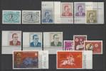 1971 Turchia Turkey 5 Serie Con 14v. MNH**: Mi. 2207/08, 2212/18, 2226/28, 2232/33 - 1921-... Republic
