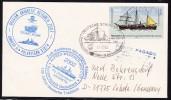 ANTARCTIC, GERMANY, Belgian  Research ANDEEP II, Polarstern XIX/4, 31.3.2002, 3 Cachets !! 23.10-08 - Antarctische Expedities