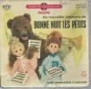 """45 Tours EP - Série TV """" BONNE NUIT LES PETITS  """" ( Déssin Animé  ) + LIVRET 16 Pages - Soundtracks, Film Music"""