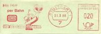 Nice Cut Meter Mitt Pfiff Per Bahn, DB Suttgart 13/6/1966 - Treinen
