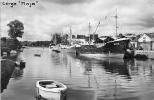 """Cpsm Bateau Identifié """" Ernst Gier """" Quimper 1951 Brement Allemagne - Handel"""