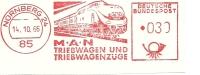 Nice Cut Meter M.A.N. Triebwagen Und Triebwagenzuge Nurnberg 14/10/1966 - Treinen
