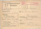 FRANCE   -==-   POSTKARTE  -==-  Courrier Des Prisonniers De Guerre  -==-  à Destination De PERIGUEUX  Zone Non Occupée - Tarjetas De Franquicia Militare
