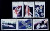 Vietnam Viet Nam MNH Perf Stamps 1992 : Shuttle Spaceship / Space (Ms641) - Vietnam