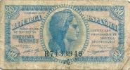 ESPAGNE ESPANA Ministerio De Hacienda 1937 50 Centimos - [ 5] Emissioni Ministero Delle Finanze