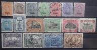 BELGIE  Bezetting  1920    OC 84 - 100  Gestempeld  (= OC 100 verdunning linker-bovenhoek)  CW 160,00