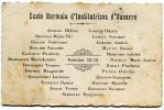 AUXERRE(YONNE) CARTE DE VISITE(ECOLE) - Visiting Cards
