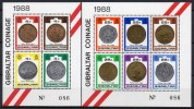 Gibraltar - Bloc Feuillet - 1989 - Yvert N° BF 12 & 13 ** - Gibraltar