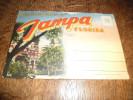 Carte Postale Pochette Ancienne Souvenir De Tampa En Floride - Tampa