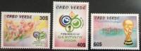 Cabo Verde 2006 - FIFA World Cup Germany Coupe Du Monde Football Soccer WM Deutschland Fußball 3 Val. MNH - Cape Verde