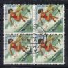 Z697 - MOZAMBICO 1961, 50 Cent N. 479 Quartina Usata . Hockey