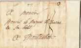 1000# PARAY LE MONIAL Lenain 1 48 * 4 Mm 1780 En BOURBONOIS SAONE ET LOIRE Cote 380 Euros - Postmark Collection (Covers)