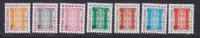 MAURITANIE TAXE N°   27 à 33 ** MNH Neufs Sans Charnière, TB  (D1015) - Mauritania (1960-...)