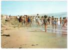 CPSM ENFANTS JOUANT A LA PLGE ST HILAIRE DE RIEZ VENDEE COLONIE DE VACANCES DE GAGNY LA PLAGE 1970 - Saint Hilaire De Riez