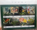 Tanzania 2013 Flora Flowers/fiori - Sheetlet Of 8 - New !!! - Tanzania (1964-...)