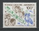 Nlle CALEDONIE 1982 PA N° 226 ** Neuf = MNH Superbe  Cote 3.70 € Faune Fauna Oiseaux Birds Population Carte - Aéreo