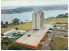 CPSM HOTEL IVOIRE ABIDJAN COTE D IVOIRE VUE SUR LES LAGUNES ET TREICHVILLE - Costa De Marfil