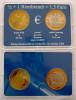 NETHERLANDS 0,5+1 REMBRANDT 2006 = 1,5 EURO KU NI ZI BIMETALLIC 400 YEARS UNC OGICINAL BOX - Paesi Bassi