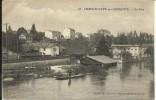 """CHATEAUNEUF , La Fuie , 1915 , CPA ANIMEE + Cachet Au Dos """" 8 REG. Du GENIE , SAPEURS TELEGRAPHISTES """" - Chateauneuf Sur Charente"""