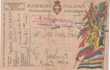 Franchigia 1919 Comando 13a Fanteria Da Herpelje (Erpelle) Trieste Annullo Austriaco Per RACALMUTO (Agrigento) (RL1656) - Guerra 1914-18