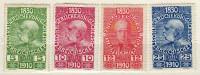 �sterreich 1910 Mi 164; 166-167; 169 * [151115XV]