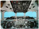 CPM AVION COCKPIT EINER SWISSAIR DC 9 - 1946-....: Moderne