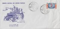 Enveloppe    Congrés  National   Des   SAPEURS - POMPIERS      BAGNOLES DE  L' ORNE   1981 - Sapeurs-Pompiers