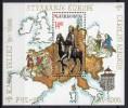Croatie - Bloc Feuillet - 2001 - Yvert N° BF 19 **  - Charlemagne - Kroatien