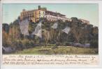 MEXICO - CASTILLO DE CHAPULTEPEC - DOS UNIQUE - AFFR AU USA EN 1905 ( Traces Blanchatre) - Mexique